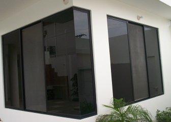 Ventanas de vidrio